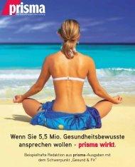 Gesund & Fit 2013 - prisma Verlag