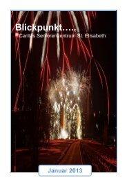 Ausgabe Januar 2013 - Seniorenzentrum Oberstaufen