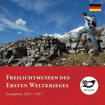 Freilichtmuseen des Ersten Weltkrieges