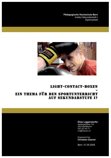 Light-contact-boxen - ein Thema für den ... - Light-Contact.ch