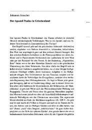 Johannes Irmscher Der Apostel Paulus in Griechenland - Leibniz ...