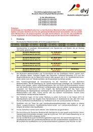 Durchführungsbestimmungen Juniors 2013 - Deutscher Volleyball ...