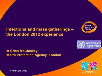 London 2012 – what can we learn?