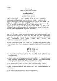 "13306 Verordnung über das Naturschutzgebiet ""Disibodenberg"" bei ..."