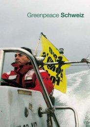 Imagebroschüre - Greenpeace