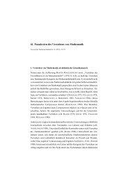 61. Paradoxien des Verstehens von Mathematik