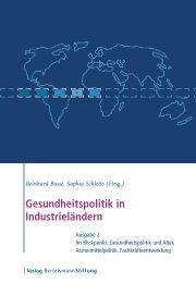 Gesundheitspolitik in Industrieländern - Health Policy Monitor