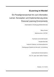 Konzeption und Implementierung eines Personal Learning ...