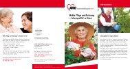 Mobile Pflege und Betreuung – Lebensqualität zu ... - AWO Karlsruhe