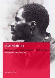 Newsletter 9 (2013) - NCCR Mediality