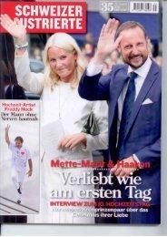Schweizer Illustrierte, August 2011 - Freddy Nock