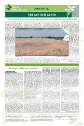 Tod auf dem acker - Agrar Koordination