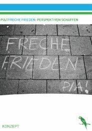 PROJEKT INFO - Freche Frieden - Deutsch - peace in action