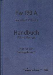 Fw190A, fruehe Baureihen 2.0 - Classics Hangar