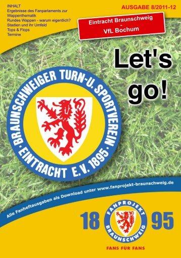 Heft 08: VfL Bochum - FanPresse Braunschweig