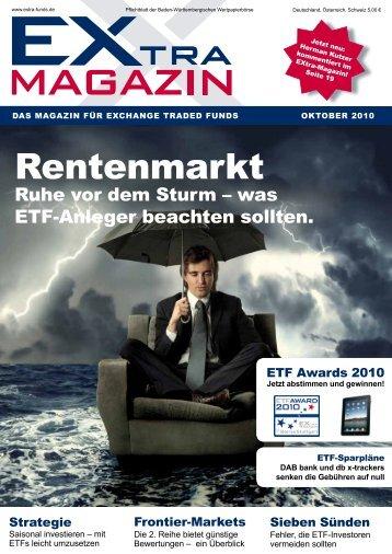 EXtra-Magazin Oktober 2010