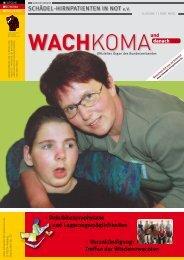 Ausgabe 1/2008 - Bundesverband Schädel-Hirnpatienten in Not eV