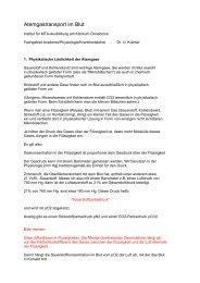 Atemgastransport im Blut - Mtaschule-os.de