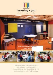 Zukunftsweisende Lernräume - innverlag