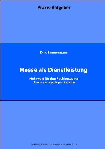 Messe als Dienstleistung - [iks] Institut für Kommunikation und ...