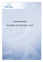 AquaSEAL UV Hard Coat Lustre - SEAL Graphics