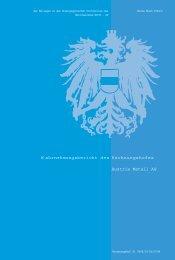 W ahrnehmungsbericht des Rechnungshofes Austria Metall AG