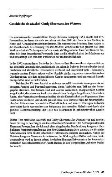Antonio Ingelfinger besagten Puppen und ... - SSOAR
