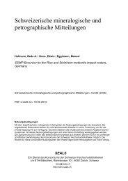 PDF-Export ETH-Konsortium: Dokumente - Naturhistorisches ...