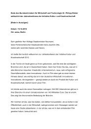 PDF: 27 KB - Initiative Kultur- und Kreativwirtschaft