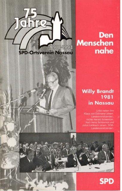 Chronik ansehen - SPD-Nassau
