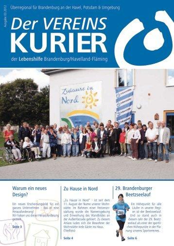 Vereinskurier 3/2012 - Lebenshilfe für Menschen mit geistiger ...