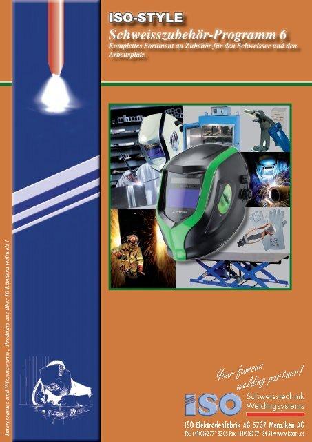 Schweisszubehör-Programm 6 - ISO Schweisstechnik AG