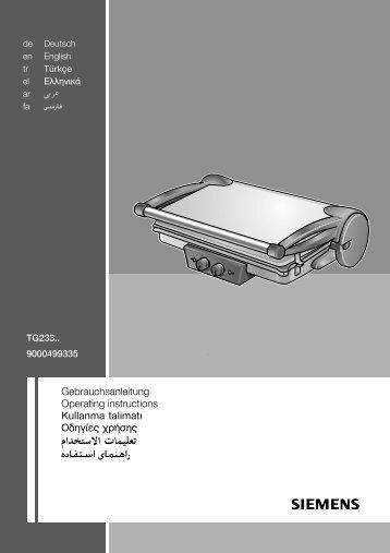 Gebrauchsanleitung Operating instructions Kullanma ... - Servis Home