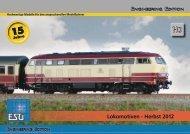 Lokomotiven - Herbst 2012