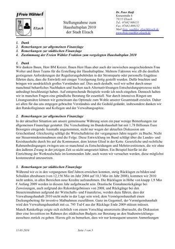 Download - Freie Wähler Elzach