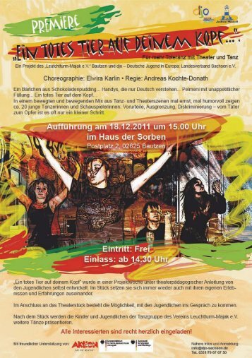 Choreographie: Eiwira Karlin - Regie: Andreas Kochte-Donath