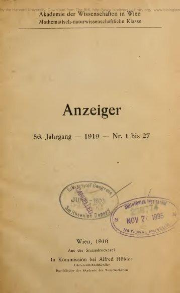 Anzeiger