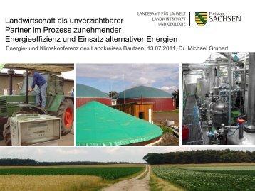 Landwirtschaft als unverzichtbarer Partner im Prozess zunehmender ...