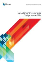 Management von iShares Obligationen-ETFs - Swiss Pensions ...