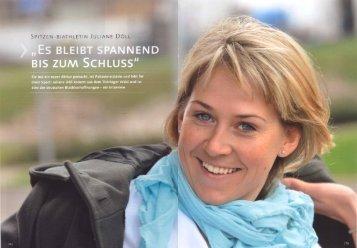 """""""Es BLEIBT SPANNEND - Juliane Döll"""