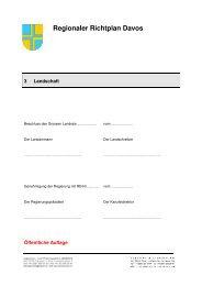 110922_RRIP Davos_3_Landschaft_oeA - Gemeinde Davos