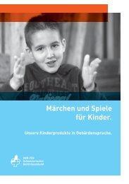 Märchen und Spiele für Kinder. - beim Schweizerischen ...