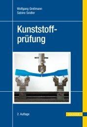 Kunststoffprüfung (2. Auflage) - Die Onleihe