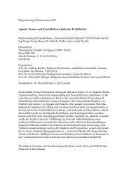 Ringvorlesung Herbstsemester 2013 Aggada. Formen und ...