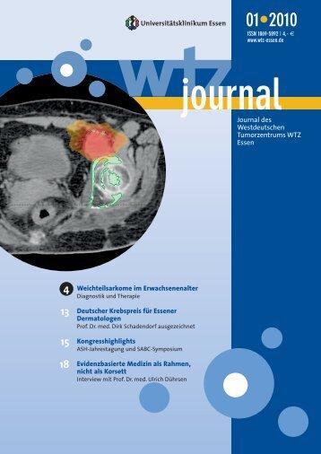 Ausgabe 1-2010 - Westdeutsches Tumorzentrum Essen