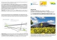 Programm/Einladung 22. Schweizer Solarpreis 2012 - Solar Agentur ...