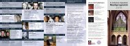 Musikprogramm 2010 als Flyer - Evangelische Kirchengemeinde ...