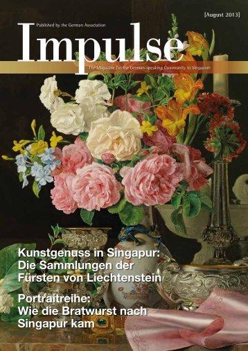 Kunstgenuss in Singapur: Die Sammlungen der ... - Impulse Singapur