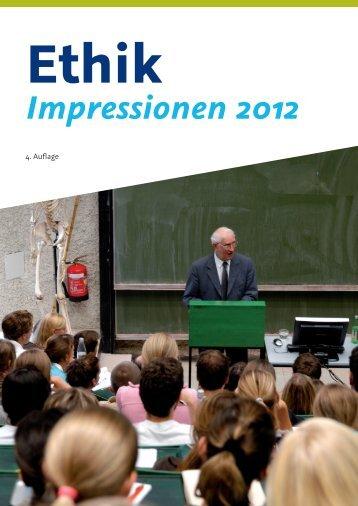 Ethik Impressionen 2012 - Division für klinisch funktionelle Anatomie