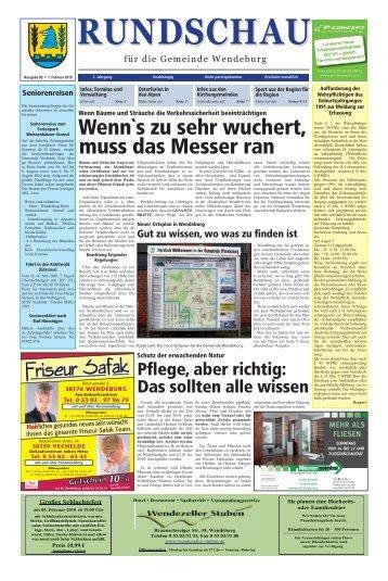 Rundschau 02/2010 - in der Gemeinde Wendeburg